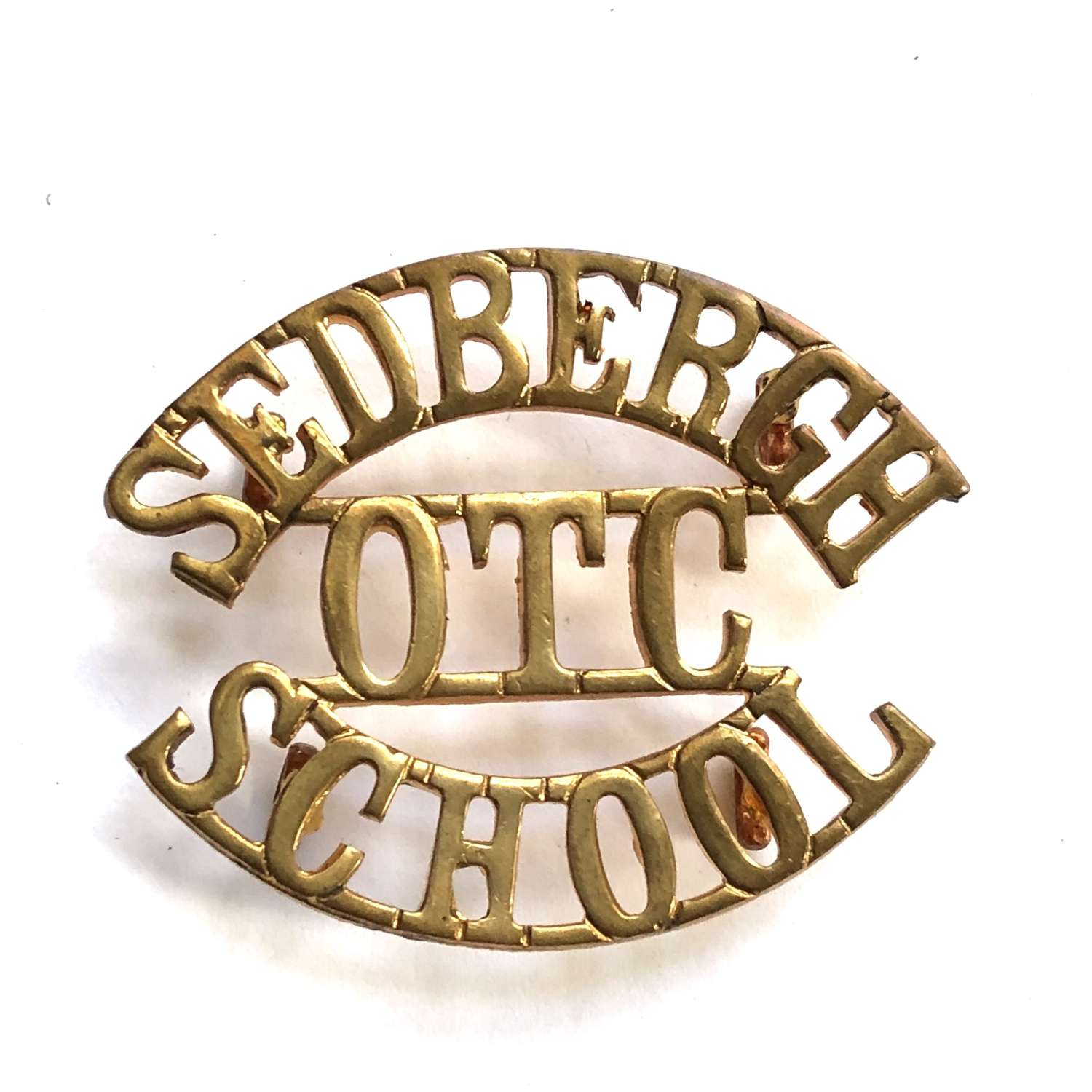 SEDBERGH  / OTC / SCHOOL Yorkshire shouder title title
