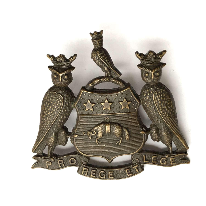 15th & 17th Service Bn West Yorks (Leeds Pals) WW1 cap badge