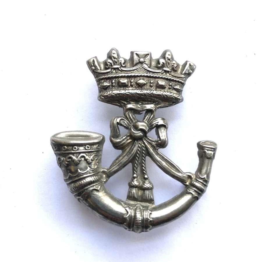 Duke of Cornwall's Light Infantry Victorian cap badge circa 1896-1900