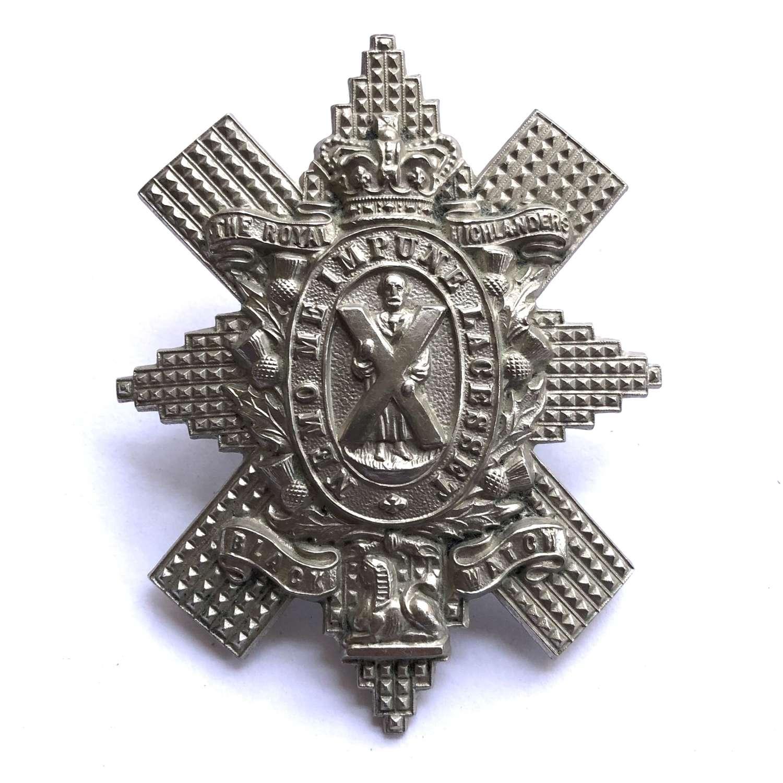 Black Watch (Royal Highlanders) Victorian glengarry circa 1881-1901