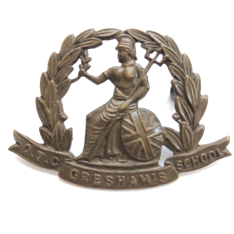 Gresham's School OTC (Holt, Norfolk) cap badge