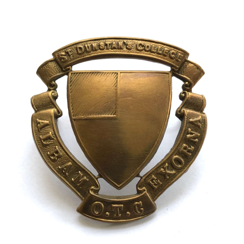 St. Dunstan's College OTC, Catford,  London cap badge