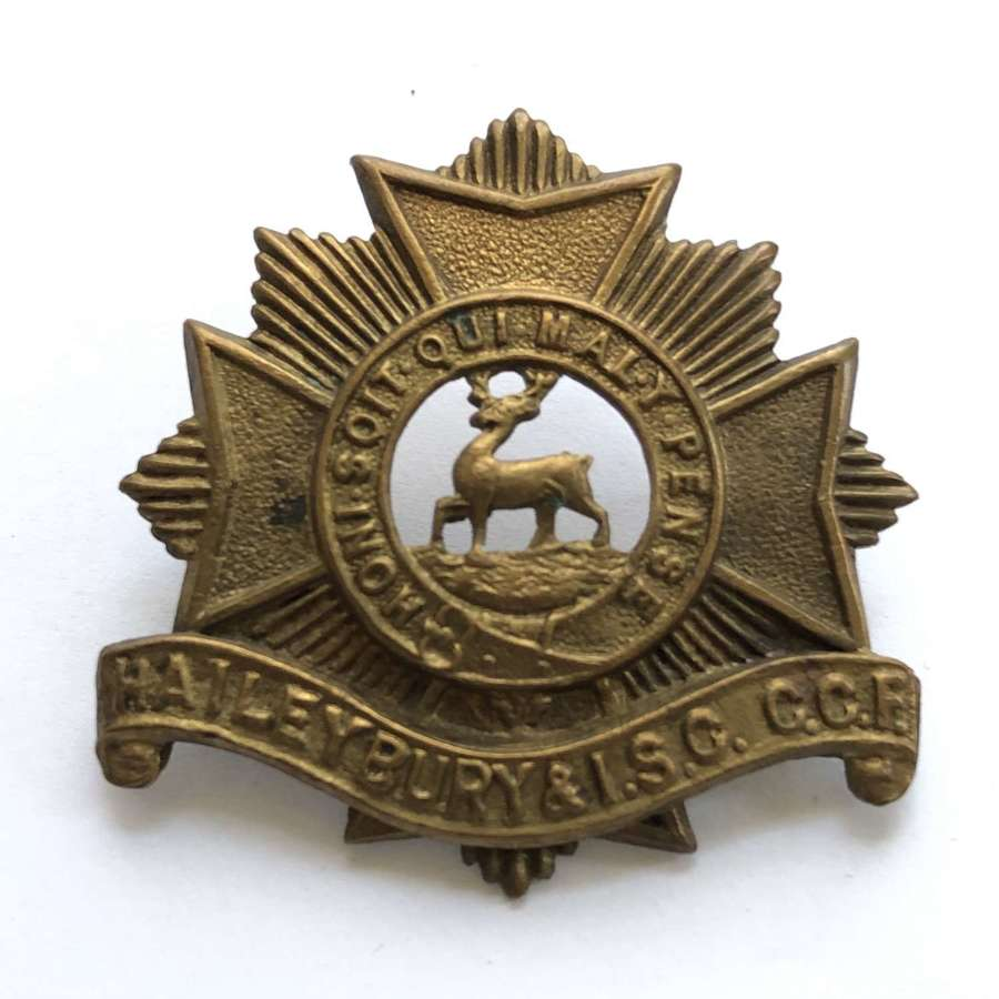 Haileybury and Imperial Service College CCF, Hertfordshire cap badge