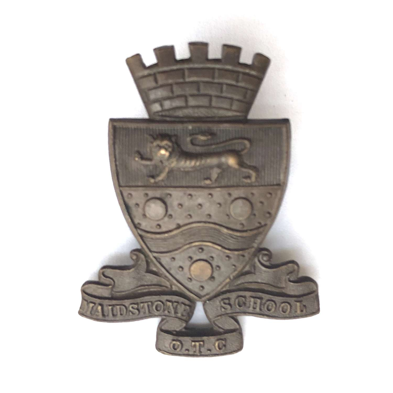 Maidstone School OTC, Kent OSD cap badge
