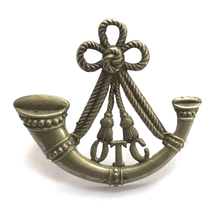 Oxford University OTC Infantry Section cap badge