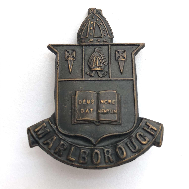 Marlborough College OTC , Wiltshire cap badge