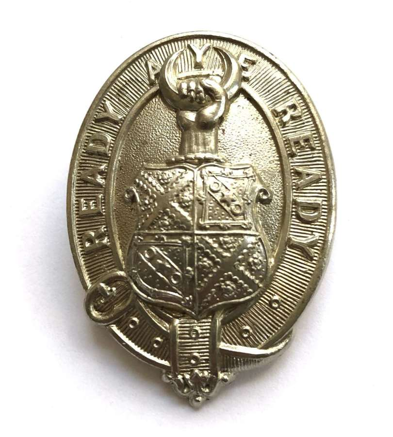 Scottish Merchiston Castle School, Edinburgh cap/glengarry badge