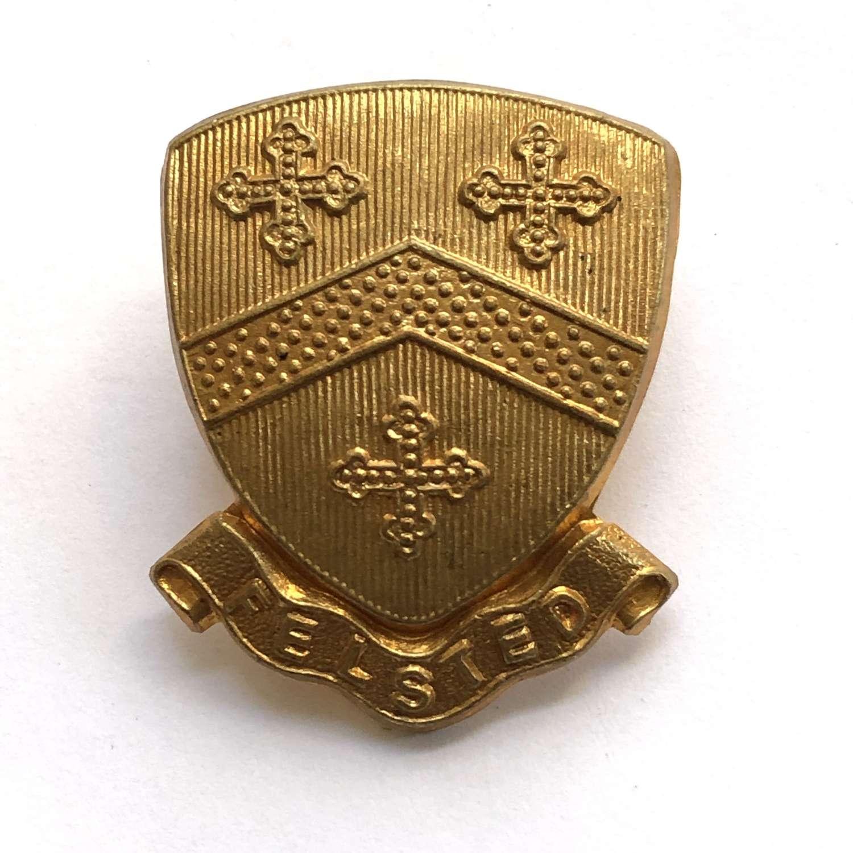 Felsted School OTC Essex cap badge