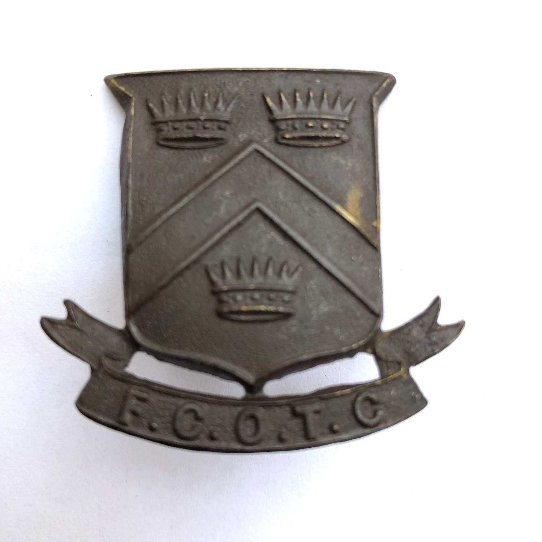 Framlington College OTC Norfolk cap badge