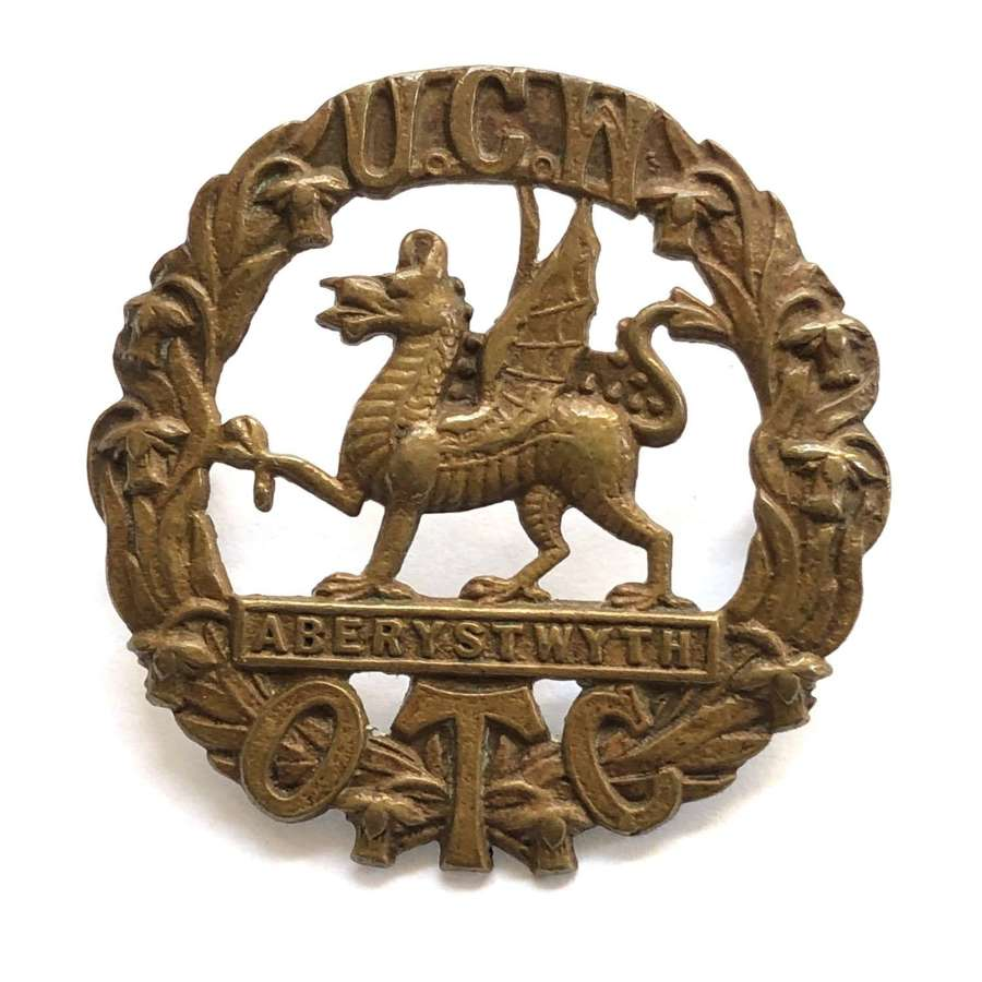 University of Wales OTC cap badge