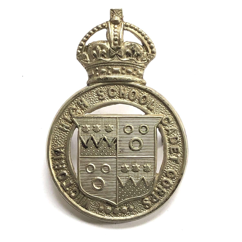 Victoria High School Cadet Corps, South African cap badge