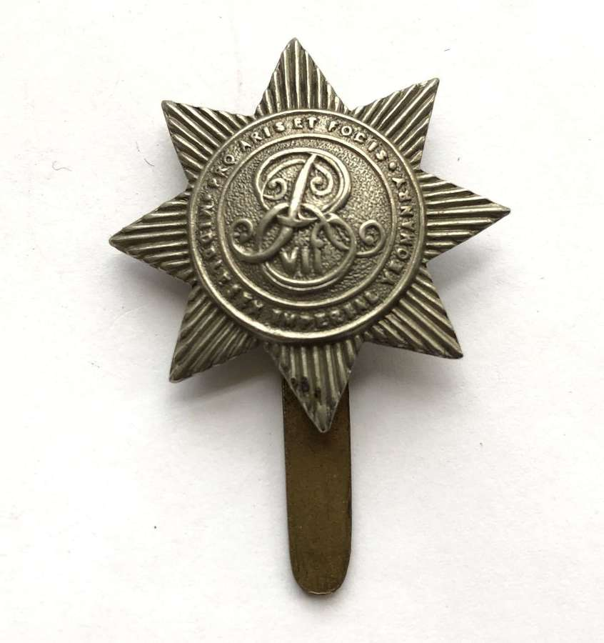 Middlesex Imperial Yeomanry pre 1908 cap badge by Woodward