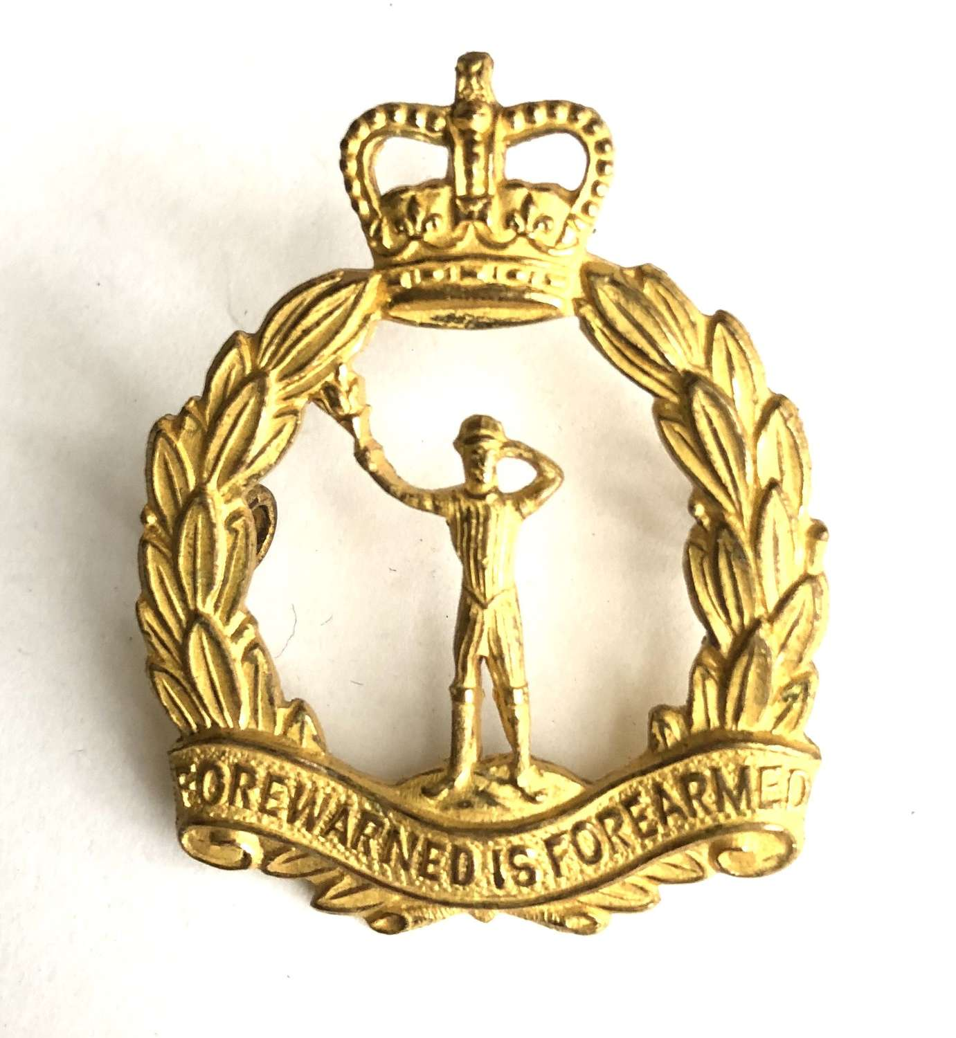 Royal Observer Corps Officer's beret badge circa 1953-96