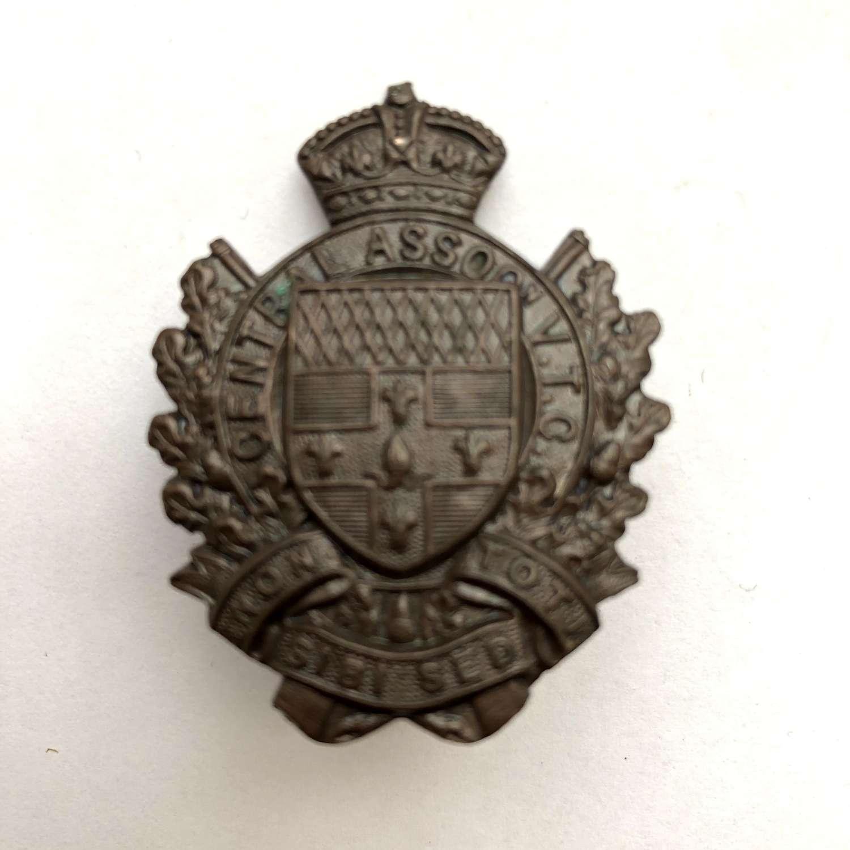 Hampstead Volunteer Training Corps WW1 London VTC cap badge