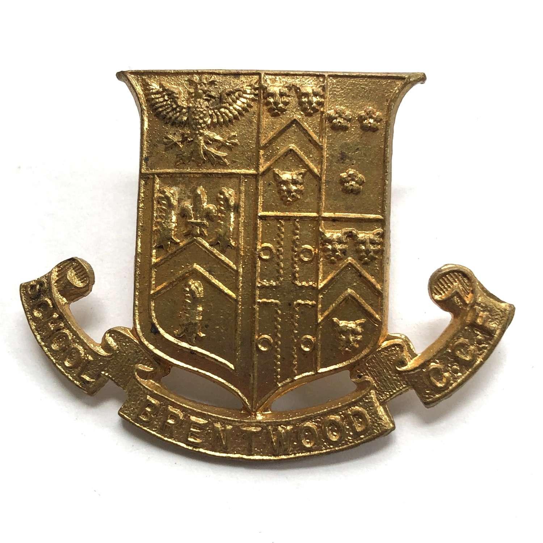 Brentwood School CCF, Essex cap badge