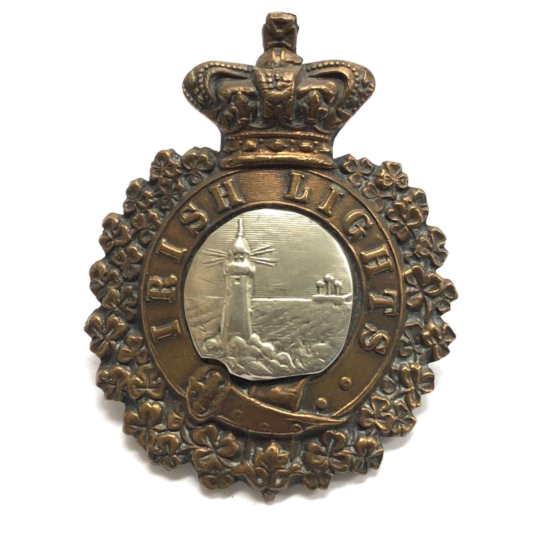 Irish Lights Vicorian cap badge