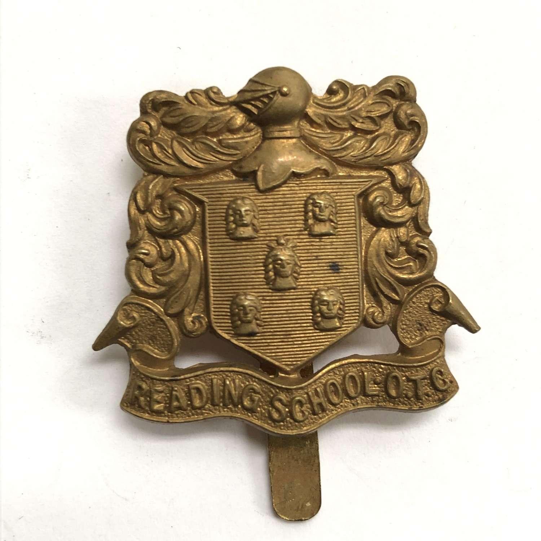 Reading School OTC cap badge circa 1908-40