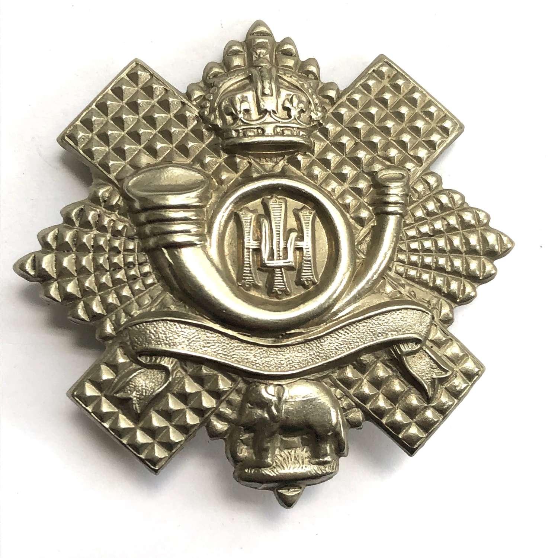 5th, 7th & 8th Bns. Highland Light Infantry HLI glengarry badge