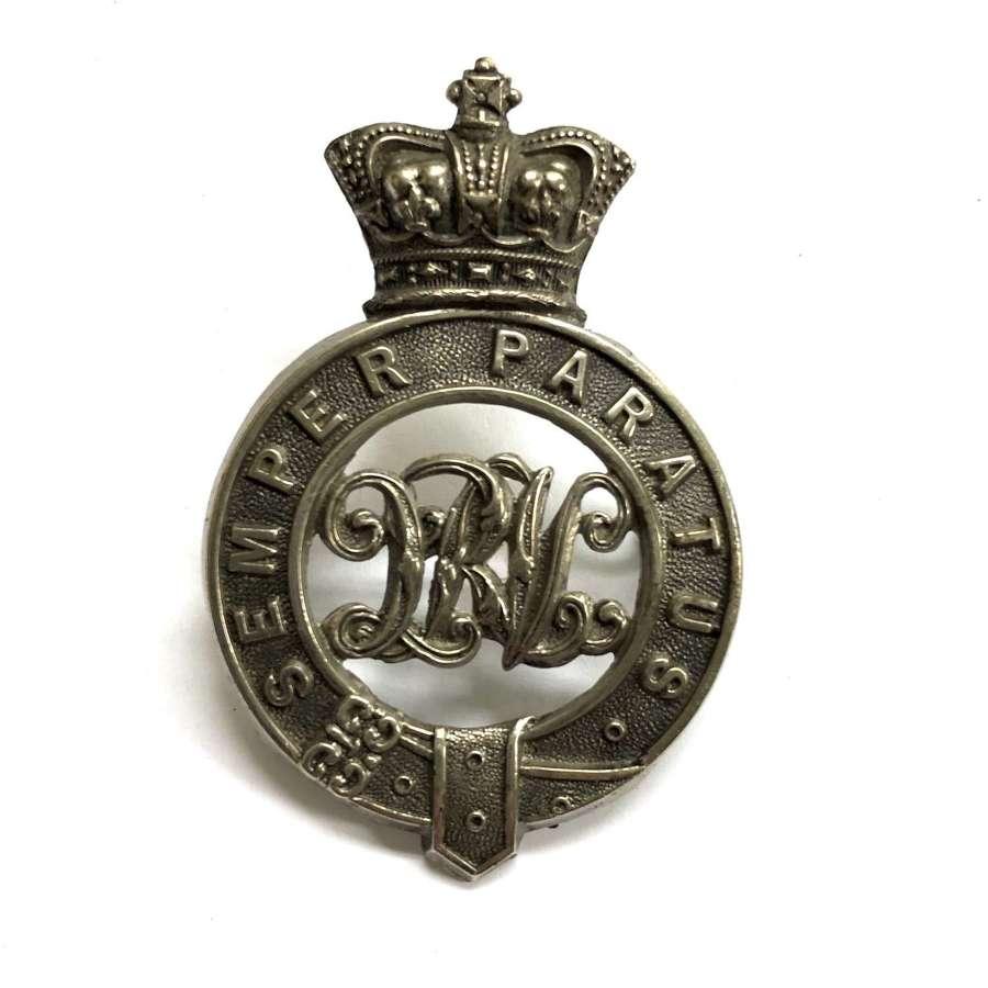 South Africa. Queenstown Rifle Volunteer Victorian cap badge