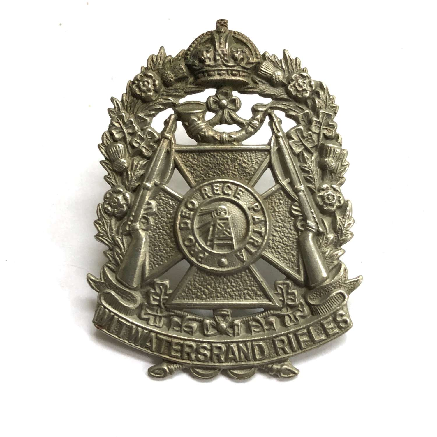 South Africa. Witwatersrand Rifles cap badge circa 1907-45