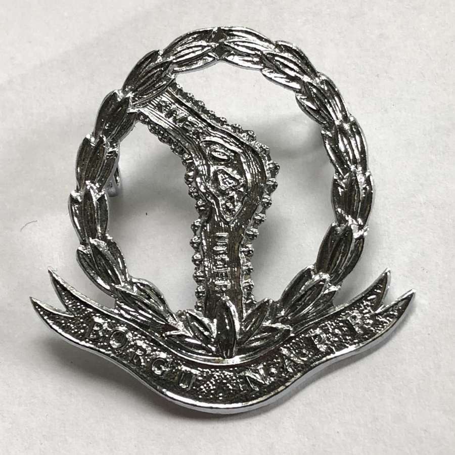 Nigeria Borgu Native Administration Police cap badge