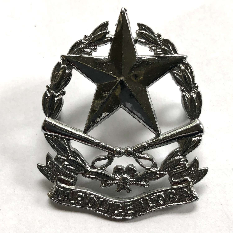 Nigeria Ilorin Native Administration Police cap badge