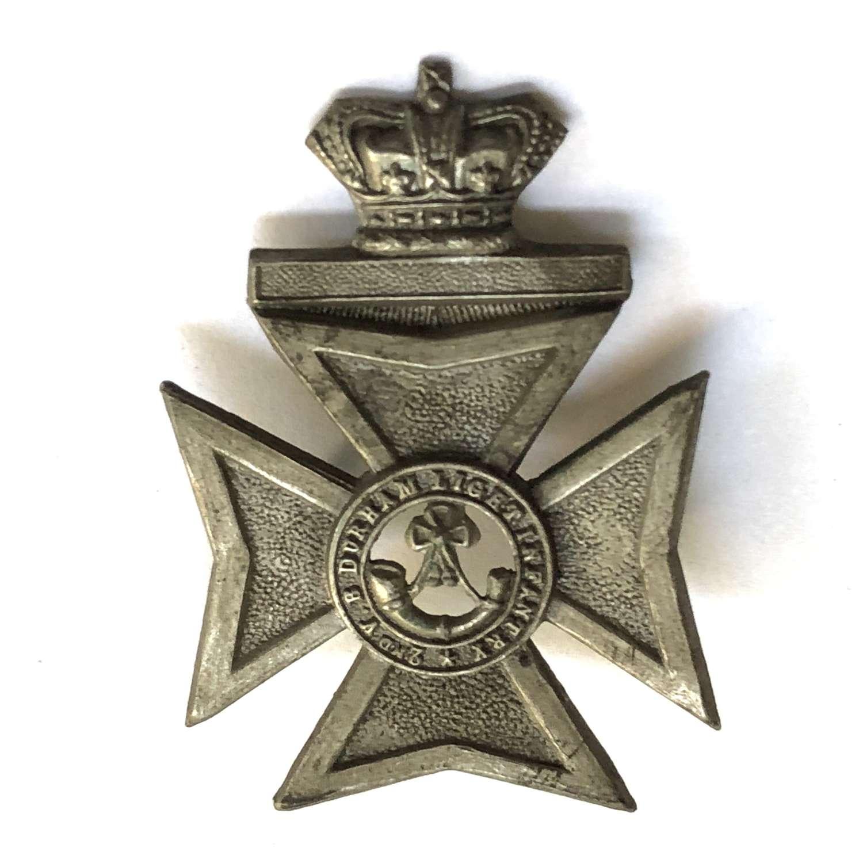 2nd VB Durham Light Infantry Victorian cap badge