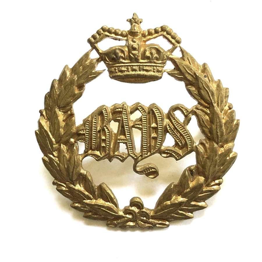 2nd Dragoon Guards (Queen's Bays) Victorian cap badge c1896-19010