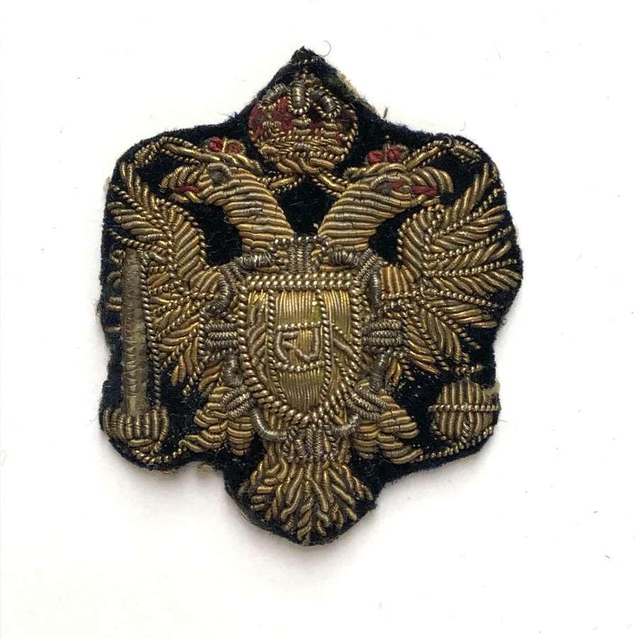 King's Dragoon Guards NCO's arm badge circa 1896-1904