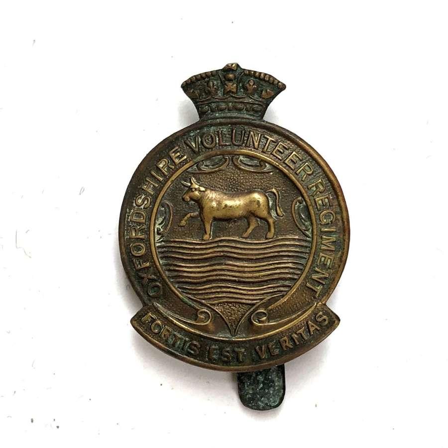 Oxfordshire Volunteer Regiment WW1 VTC cap badge
