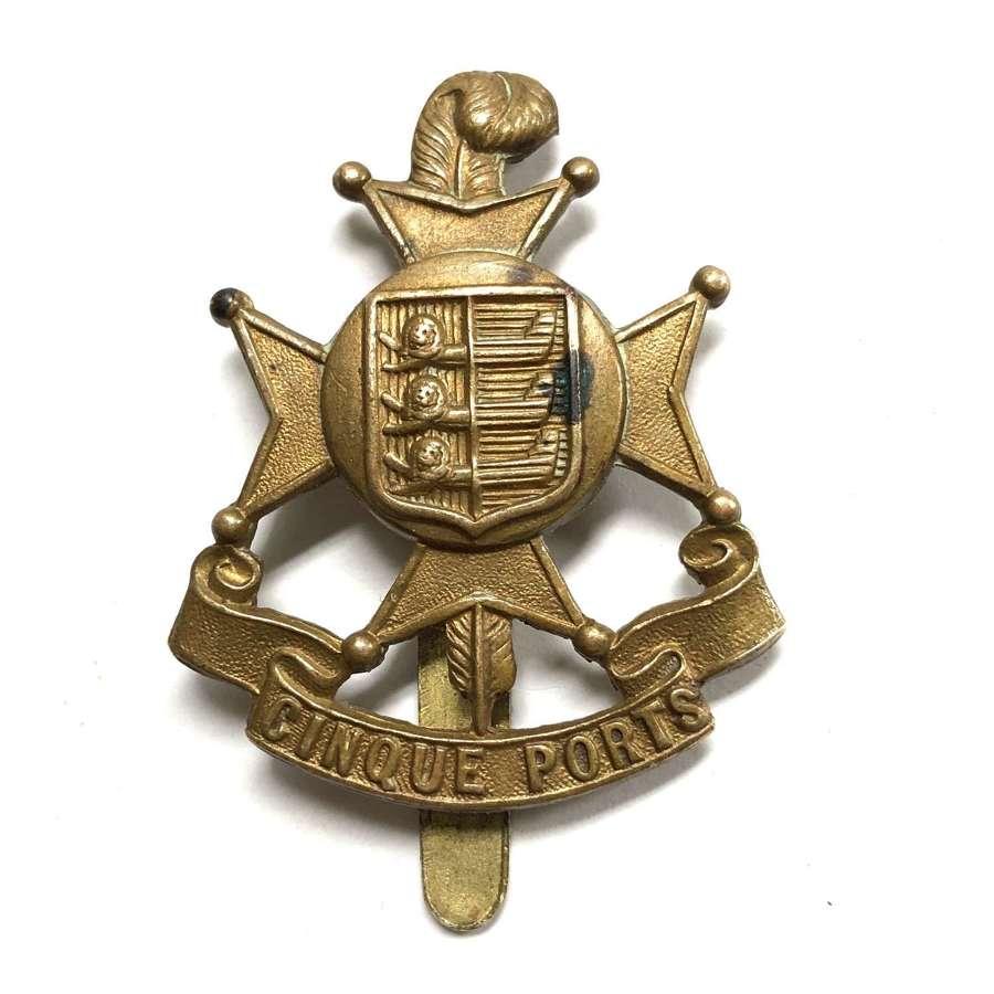 5th (Cinque Ports) Battalion, Royal Sussex Regiment cap badge