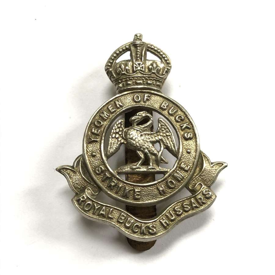 Royal Bucks Hussars Yeomanry 1908-52 cap badge