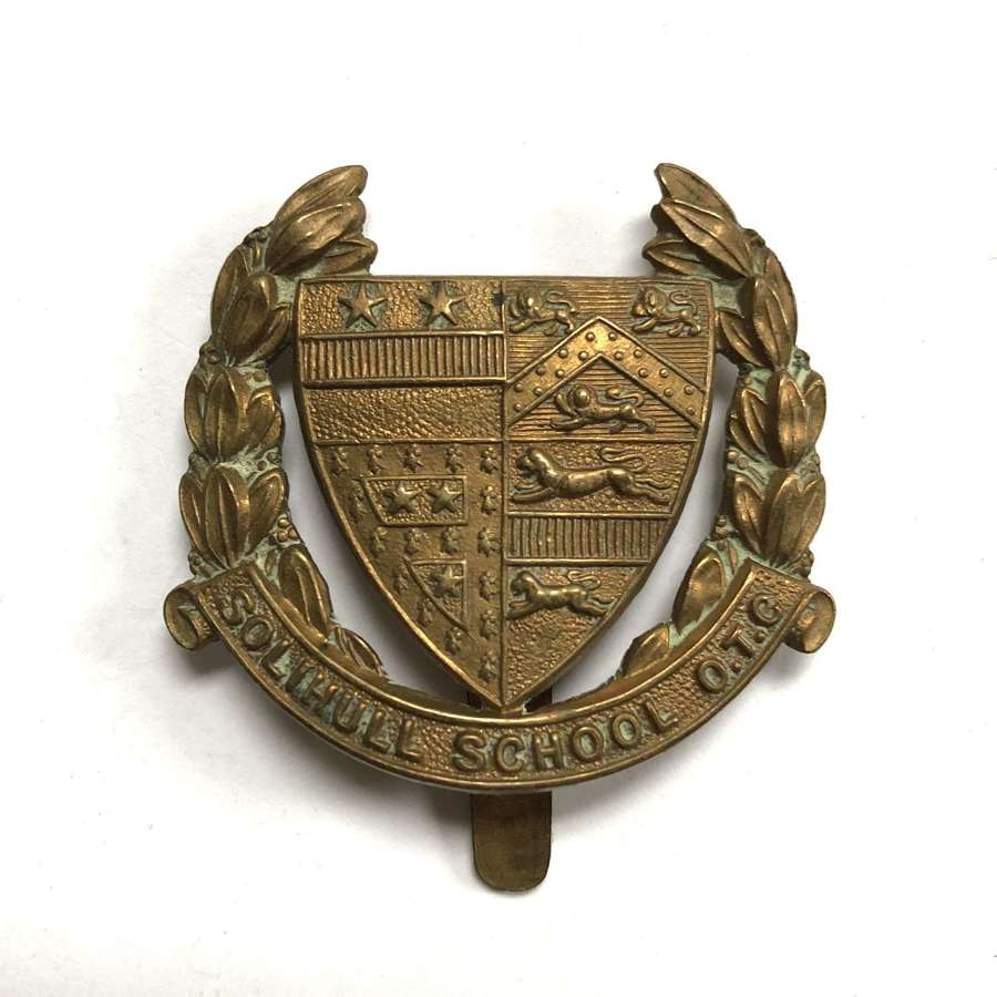 Solihull School OTC cap badge