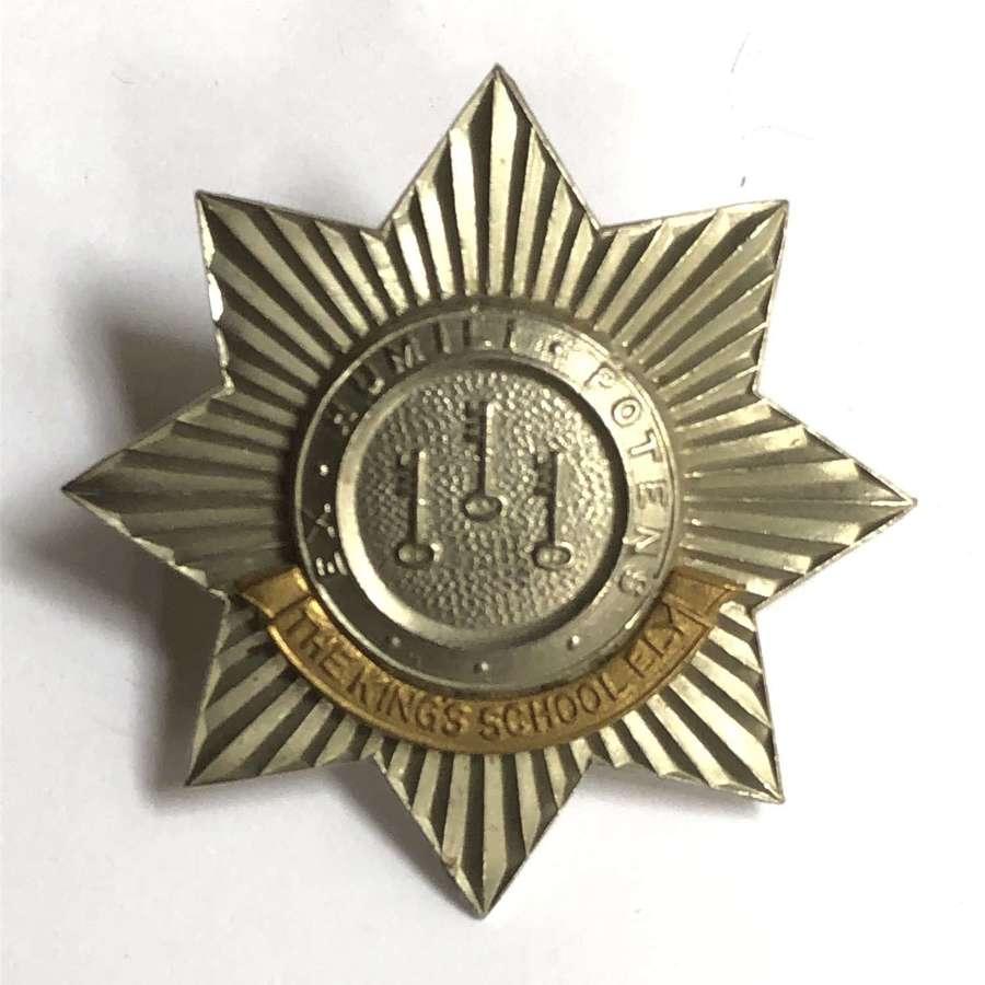 King's School Ely OTC/CCF cap badge