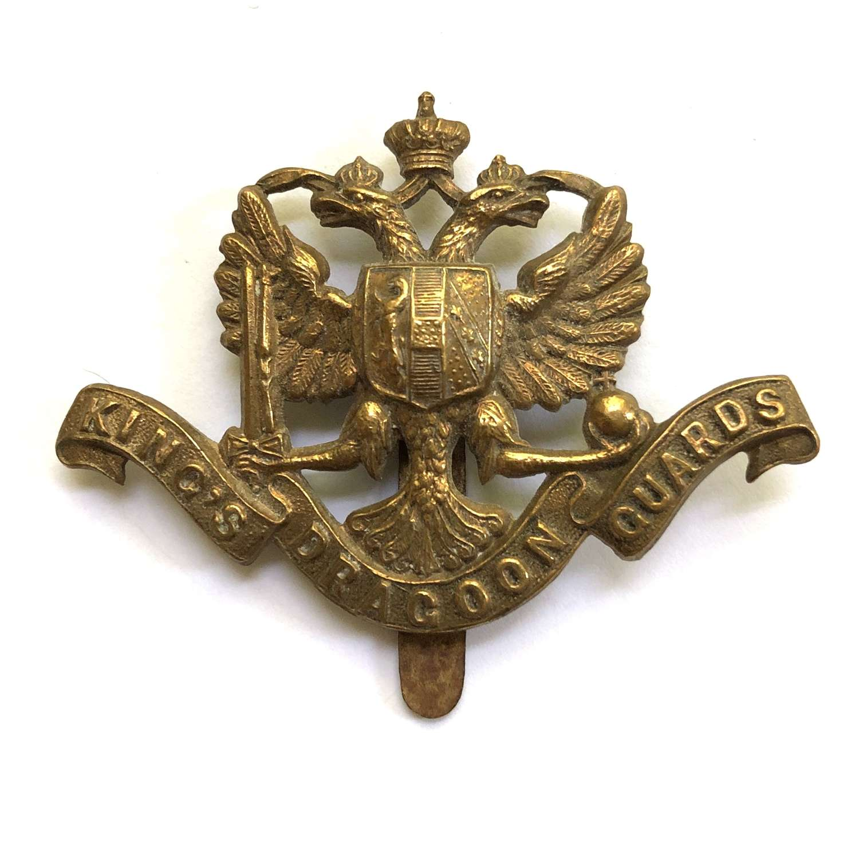1st King's Dragoon Guards cap badge circa 1896-1915