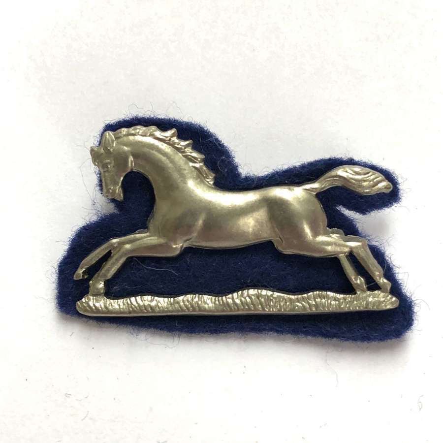 3rd Queen's Own Hussars NCO's arm badge