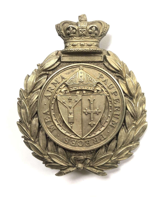 Whitgift Cadet Corps, Croydon Victorian pouch belt plate