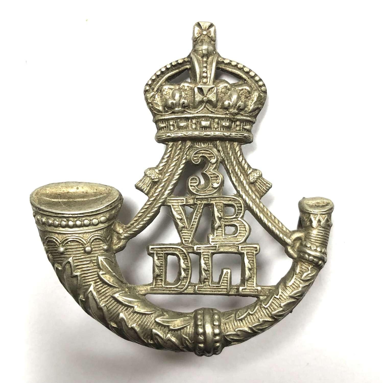 3rd (Sunderland) VB Durham Light Infantry Victorian cap badge