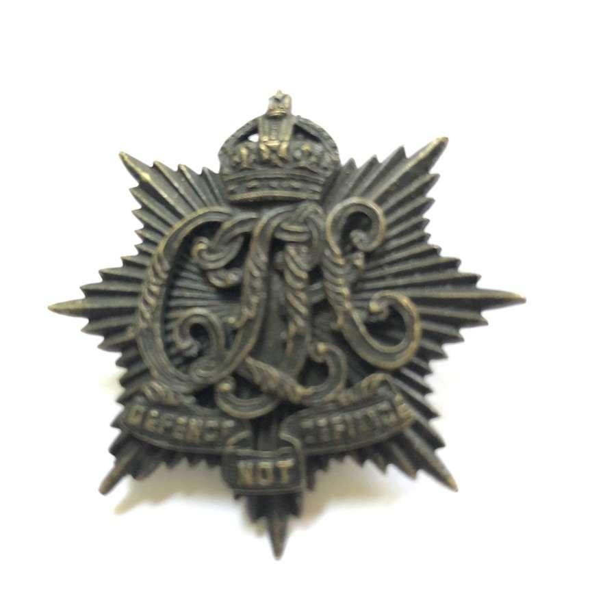 Indian Army. Calcutta Light Horse AFI cap badge