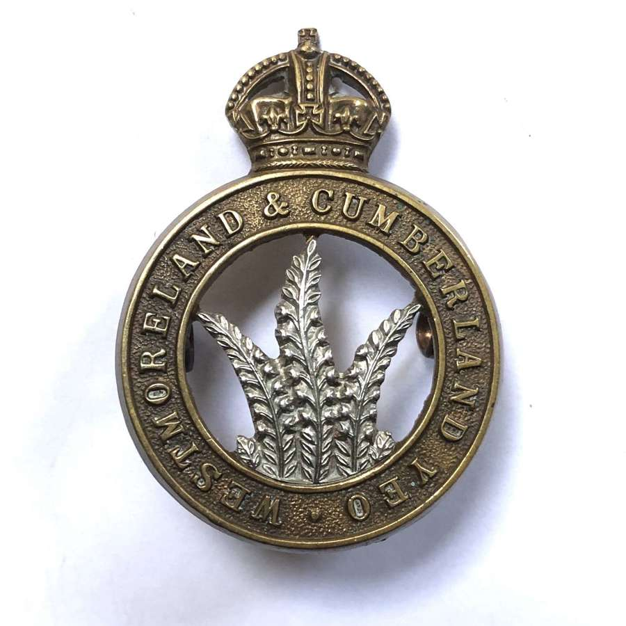 Westmoreland & Cumberland Yeomanry NCO's arm badge