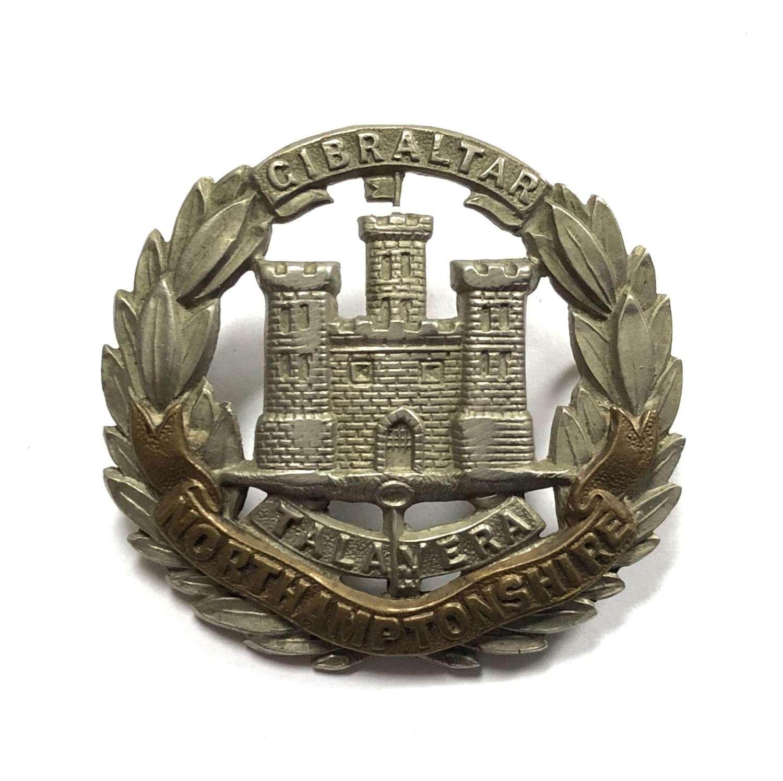 Northamptonshire Regiment Victorian cap badge