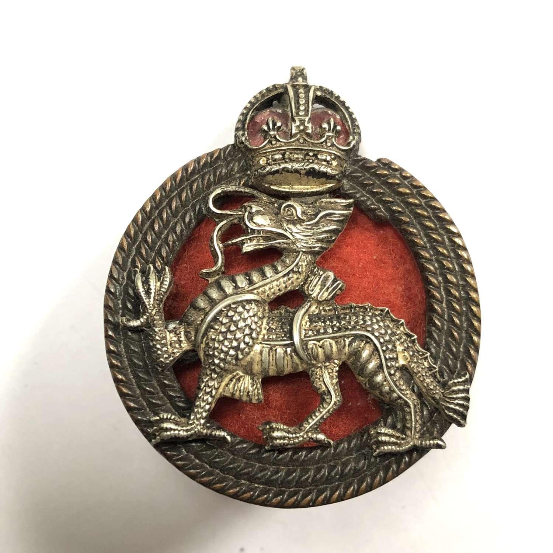 Royal Berkshire Regiment pre 1952 Officer's cap badge