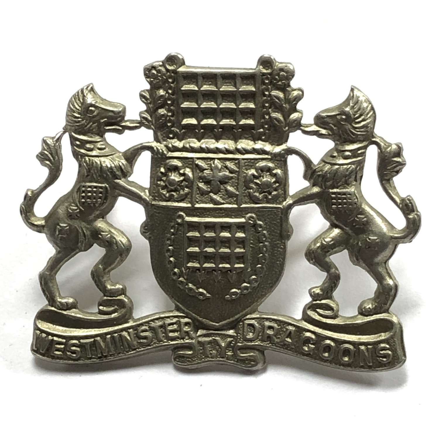 Westminster Dragoons post 1938 NCO's arm badge