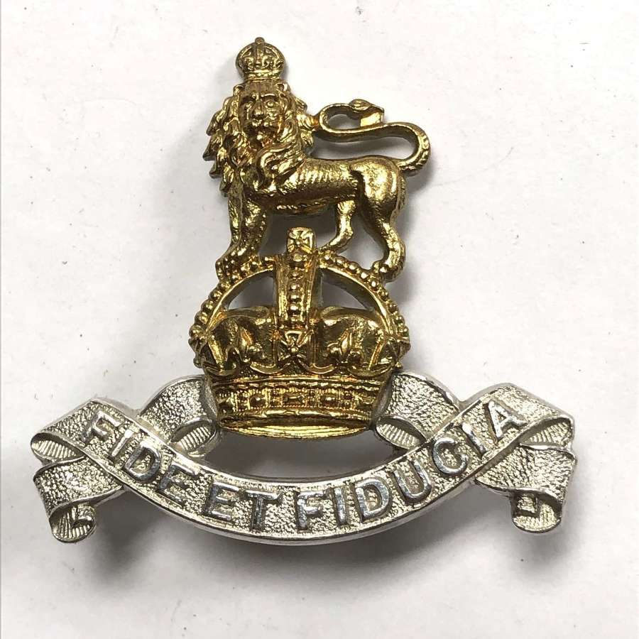 Royal Army Pay Corps Officer's cap badge circa 1929-52 by Firmin