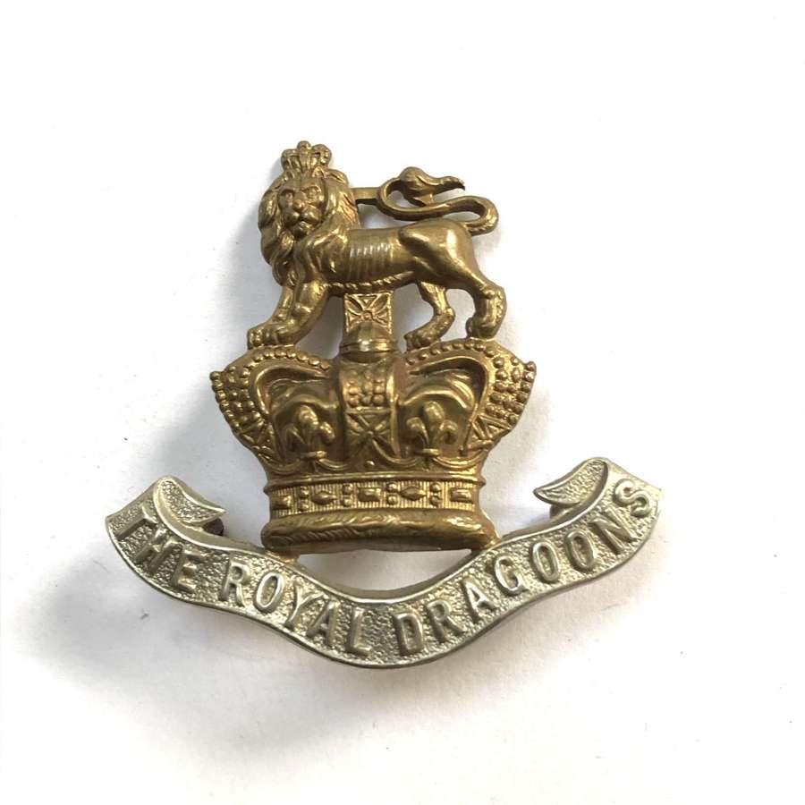 Royal Dragoons Victorian cap badge circa 1896-1901