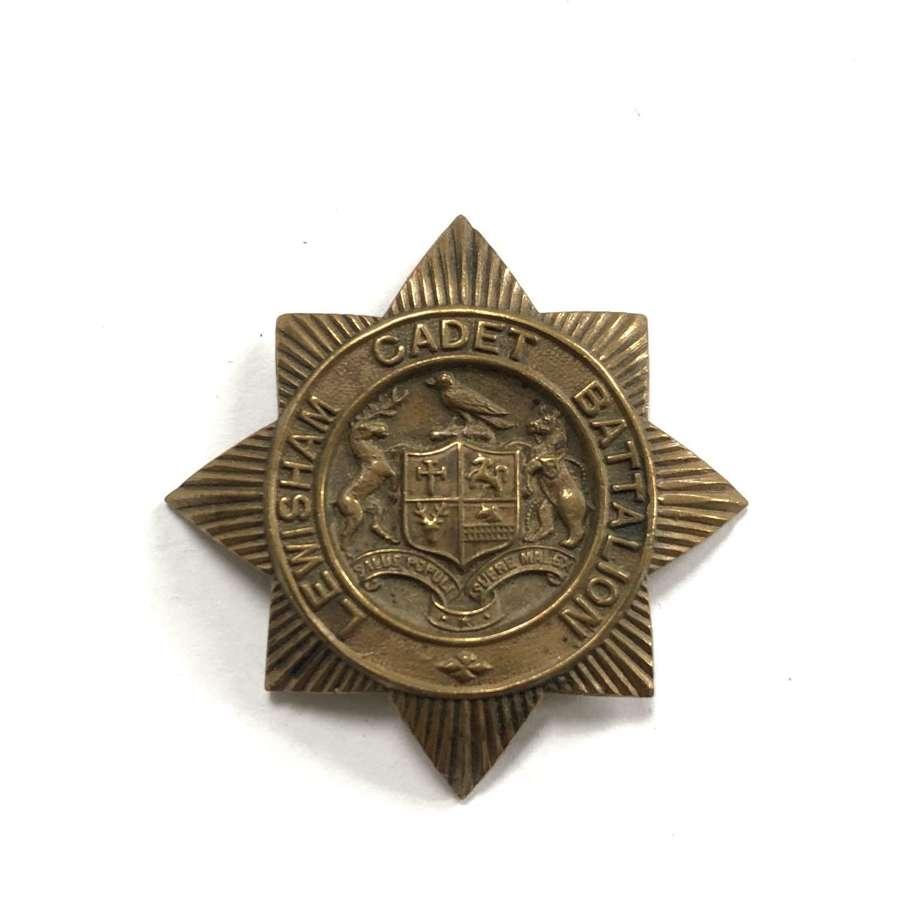 Lewisham Cadet Battalion cap badge