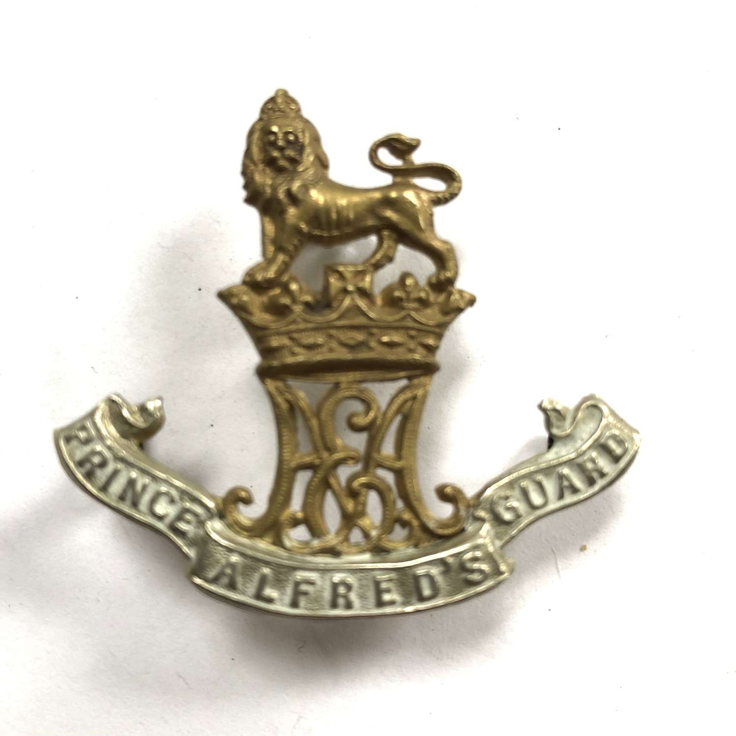 South Africa. Prince Alfred's Guards cap/sporran badge