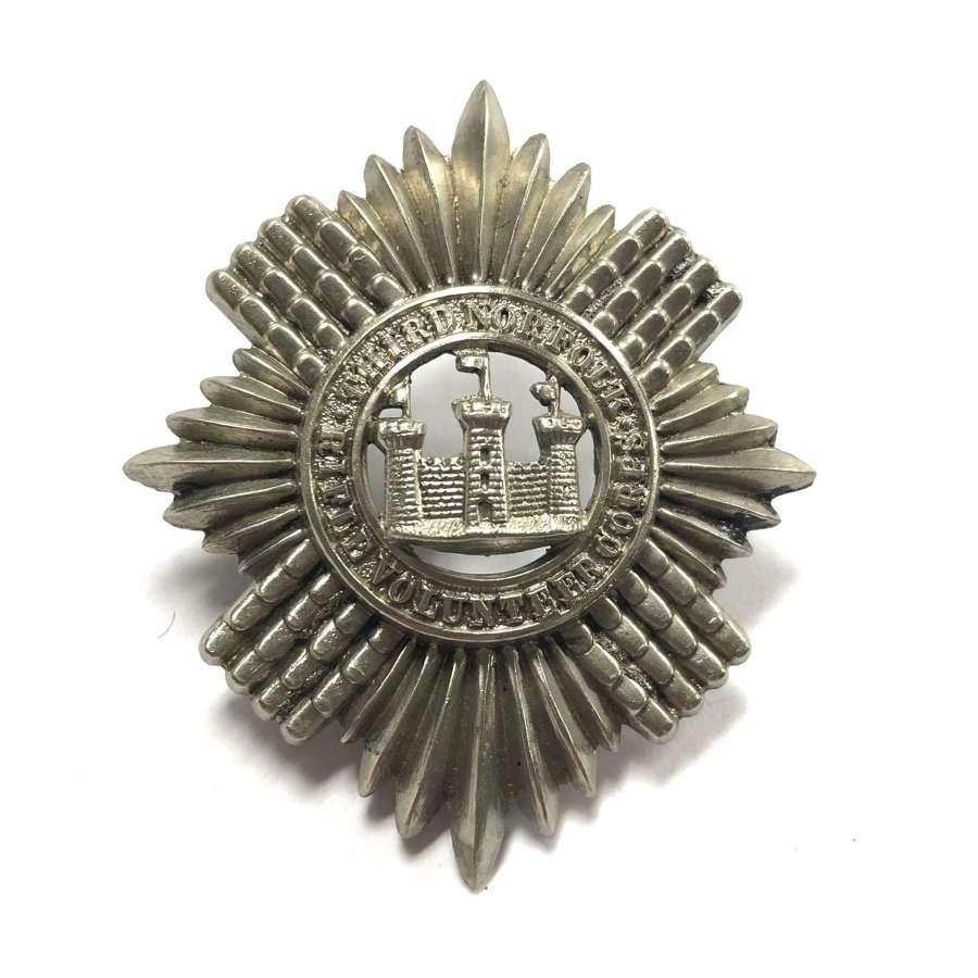 3rd Norfolk Rifle Volunteers glengarry badge