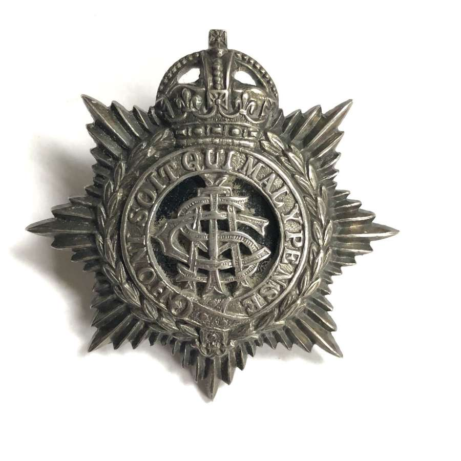 Indian Army Service Corps Officer's cap badge circa 1923-35