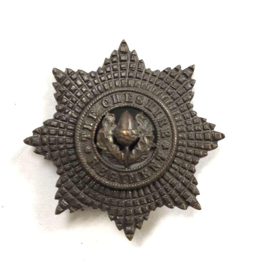 Cheshire Regiment post 1922 OSD cap badge